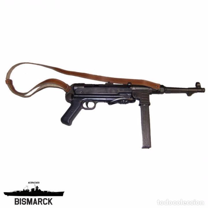 ALEMANIA SUBFUSIL MP40 REPLICA DENIX SEGUNDA GUERRA MUNDIAL (Militar - Réplicas de Armas de Fuego y CO2 )