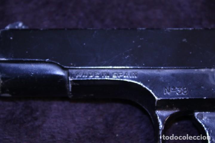 Militaria: Pistola espantaperros española no funciona. nº 38 - Foto 2 - 204538835