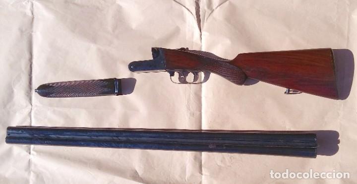 Militaria: Escopeta Victor Sarasqueta Mod. ParaTodoS 1924 Marca Registrada con Seguro Guardamonte - Foto 7 - 204603383