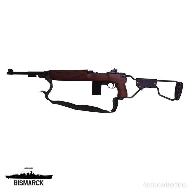 USA CARABINA M1A1 1944 MODELO PARACAIDISTA REPLICA DENIX SEGUNDA GUERRA MUNDIAL (Militar - Réplicas de Armas de Fuego y CO2 )