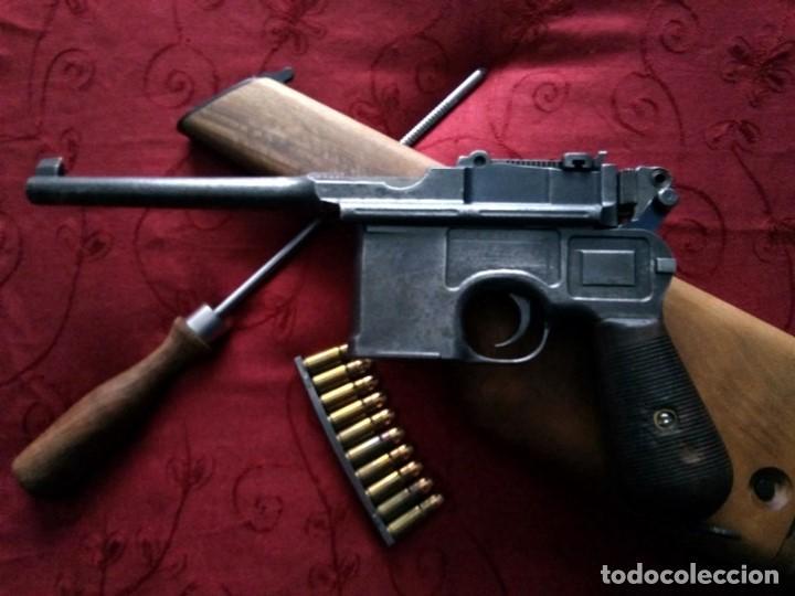 PISTOLA MAUSER C96 (Militar - Armas de Fuego en Uso)
