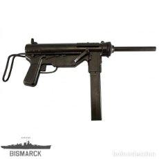 Militaria: USA AMETRALLADORA M3 GREASE GUN REPLICA DENIX SEGUNDA GUERRA MUNDIAL. Lote 205017348