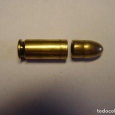 Militaria: CARTUCHO INERTE, CALIBRE 9 MM. LARGO, SEVILLA, AÑO 1961, TIPO CON FUERTE CRIMPADO DE ENGARCE.. Lote 205612206