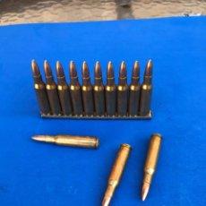Militaria: MUNICIÓN INERTE CAL. 5,56X45 (223). Lote 207132965