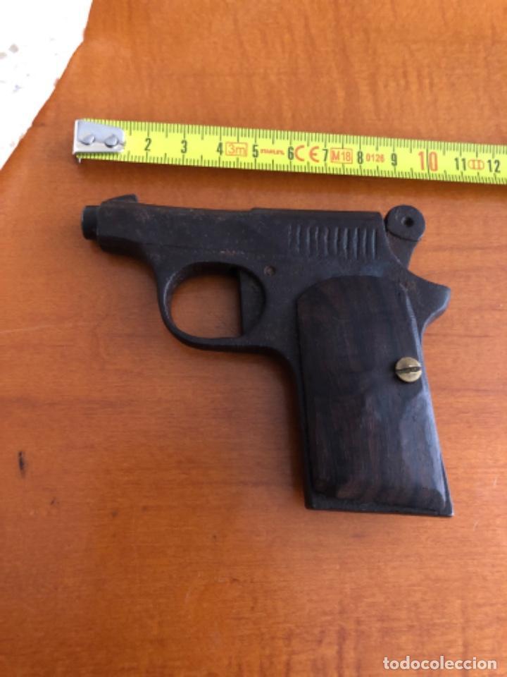 Militaria: Antigua pistola Espantaperros - Foto 7 - 146977749