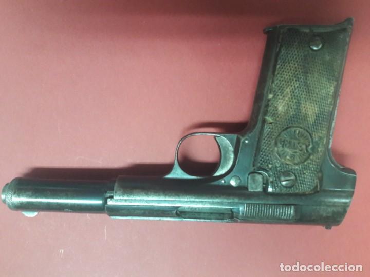ASTRA 400 CARABINENEROS (Militar - Armas de Fuego en Uso)