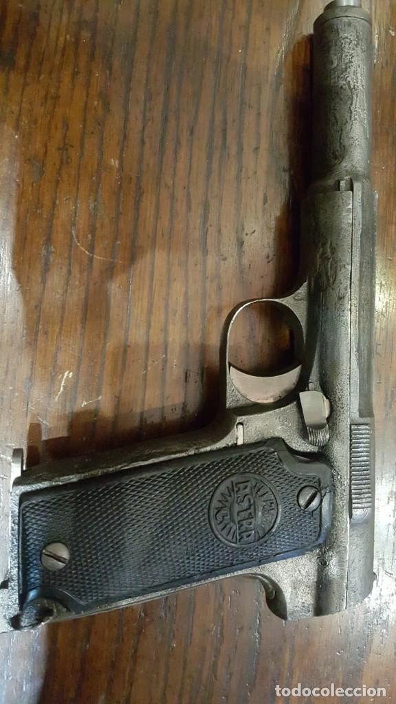 PISTOLA ASTRA 400 EL PURO INUTILIZADA (Militar - Armas de Fuego Inutilizadas)