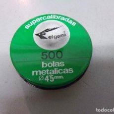 Militaria: DOS CAJAS GAMO BALINES DIABOLO Y BOLAS METALICAS NUEVS RESTO TIENDA VINTAGE. Lote 210227877