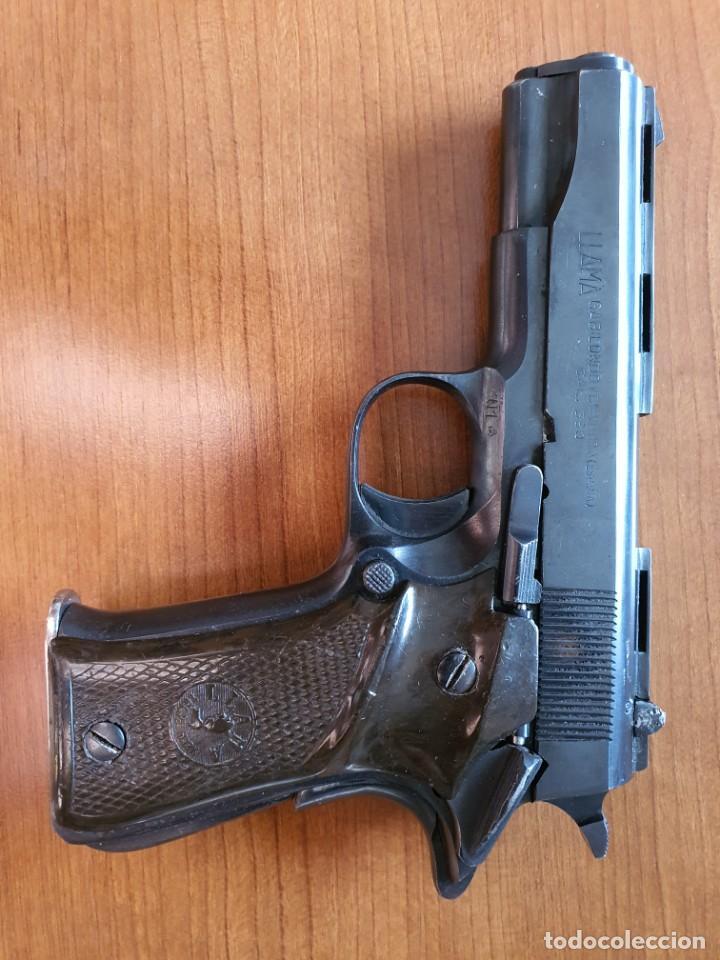 PISTOLA LLAMA MODELO III DE 9 MM. CORTO INUTILIZADA (Militar - Armas de Fuego Inutilizadas)