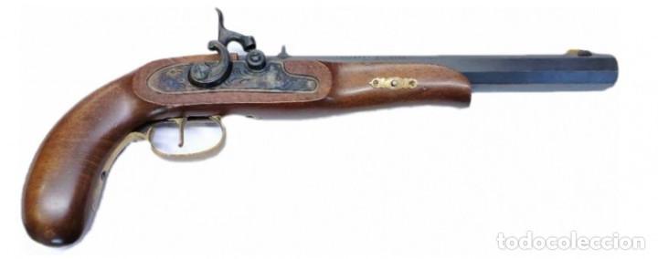 PISTOLA PERCUSION AVANCARGA CROCKETT DE ARDESA CALIBRE 32 (Militar - Armas de Fuego de Avancarga y Complementos)