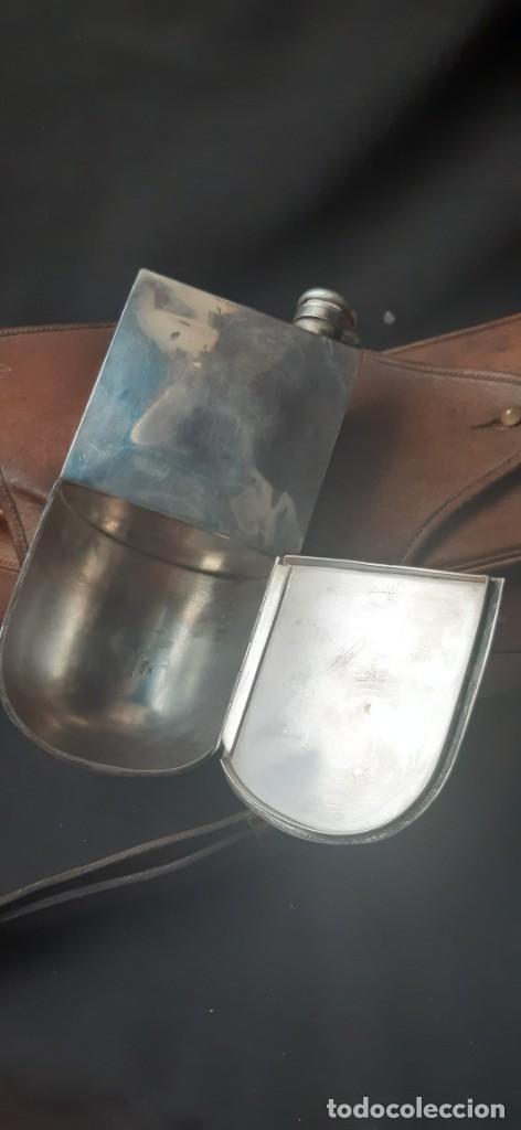 Militaria: Alforjas con una cantimplora - Foto 4 - 211921317