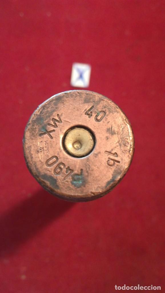 Militaria: VAINA DE BALA 40 mm INERTE MARCAJE XM 460 16 - Foto 2 - 211956442