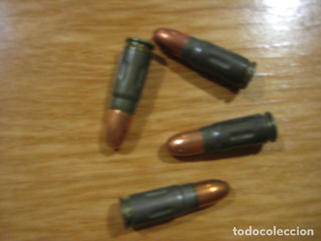 UN CARTUCHO INERTE ORIGINAL, TOKAREV 7,62X25. (Militar - Cartuchería y Munición)