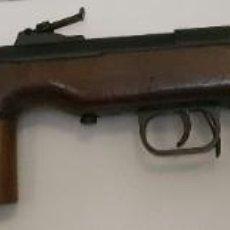 Militaria: SUBFUSIL NARANJERO MP-38, CON ESCUDO DE LA GUARDIA CIVIL, INUTILIZADO. Lote 212335536