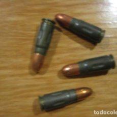 Militaria: CINCO CARTUCHOS INERTES ORIGINALES TOKAREV 7,62X25.. Lote 230109310