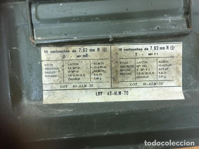 Militaria: Caja municiones francesa - Foto 5 - 212599470