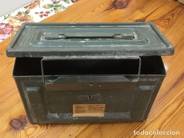 Militaria: Caja para munición francesa - Foto 2 - 212599905