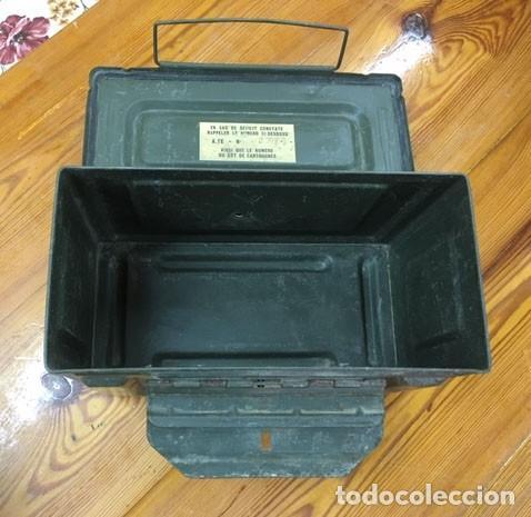 Militaria: Caja para munición francesa - Foto 4 - 212599905