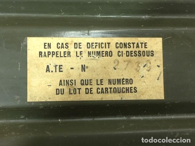 Militaria: Caja para munición francesa - Foto 5 - 212599905