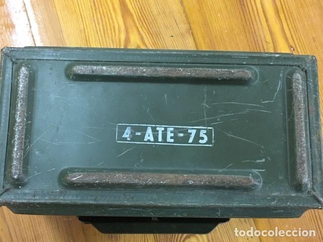Militaria: Caja para munición francesa - Foto 6 - 212599905