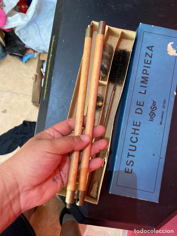 Militaria: Kit de limpieza de armas antiguo modelo 2130ver fotos - Foto 2 - 212788140