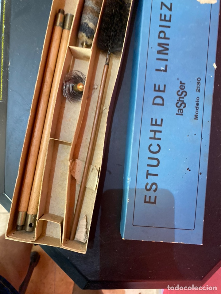 Militaria: Kit de limpieza de armas antiguo modelo 2130ver fotos - Foto 4 - 212788140