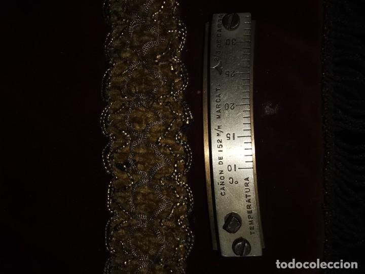 Militaria: Medidor de temperatura. Cañón de 152mm. años 50 - Foto 2 - 215108421