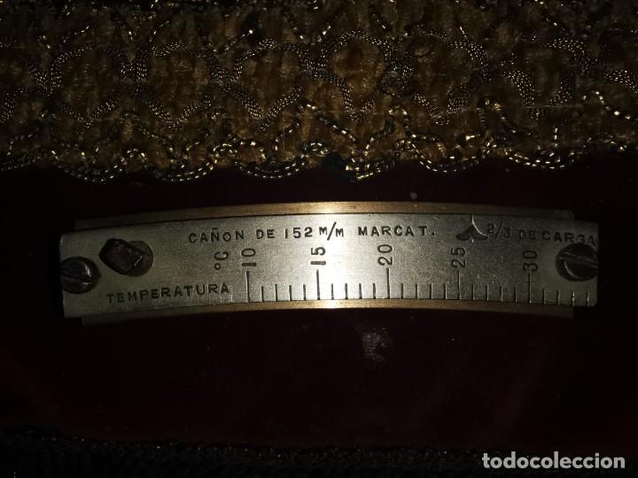 Militaria: Medidor de temperatura. Cañón de 152mm. años 50 - Foto 6 - 215108421
