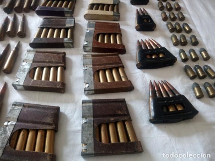 Militaria: Lote 5,600 kg de munición variada de 2ª guerra mundial,caja de caudales de hierro .1940,inerte - Foto 9 - 216834983