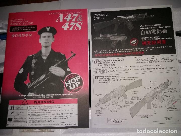 Militaria: AK 47 Beta SPETSNAZ JG 0508. Airsoft AEG - Foto 4 - 217275440