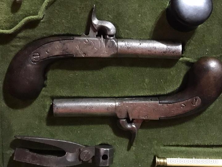 Militaria: Caja con parajes de pistolas de pistón - Foto 4 - 217918312