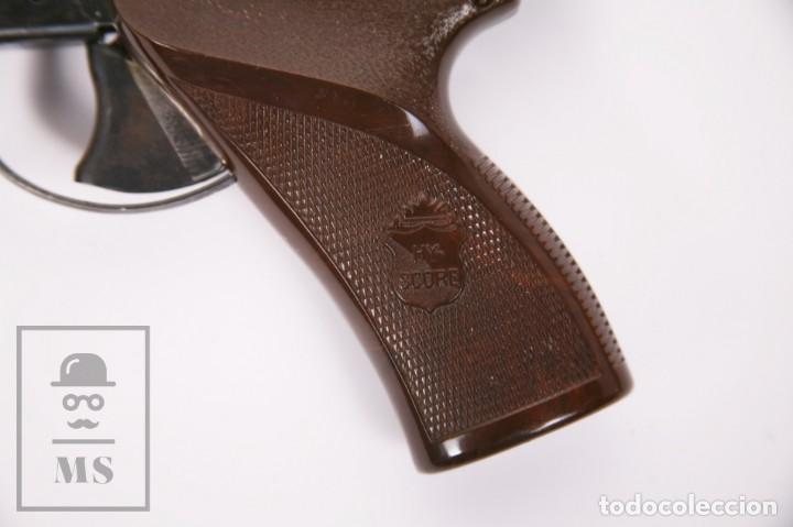 Militaria: Pistola de Aire Comprimido Hy Score, Target Model - Fabricada en USA, Mediados S. XX - Foto 7 - 218486321
