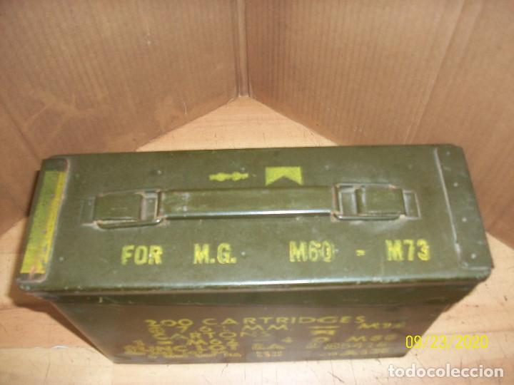 Militaria: CAJA DE MUNICIONES-VACIA - Foto 2 - 218591938