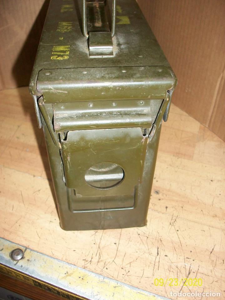 Militaria: CAJA DE MUNICIONES-VACIA - Foto 3 - 218591938