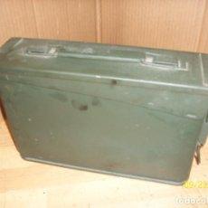 Militaria: CAJA DE MUNICIONES-VACIA. Lote 218592037