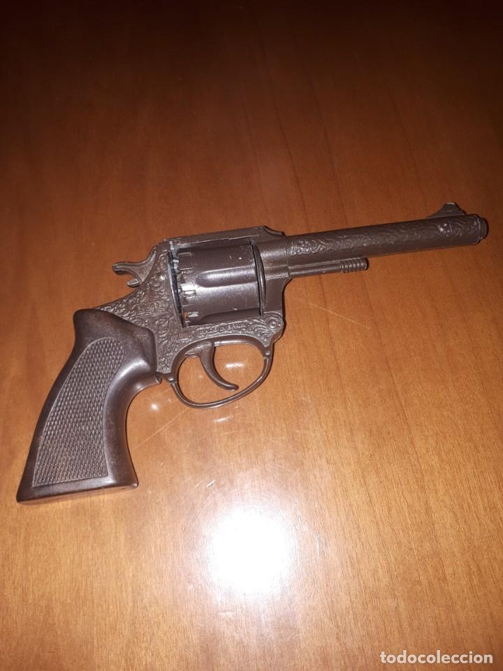 Militaria: Pistola. Revolver de jugetes Dyal A 1 marca española - Foto 2 - 219069566