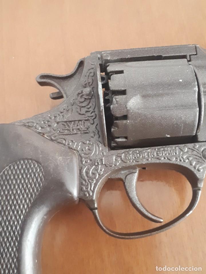 Militaria: Pistola. Revolver de jugetes Dyal A 1 marca española - Foto 3 - 219069566