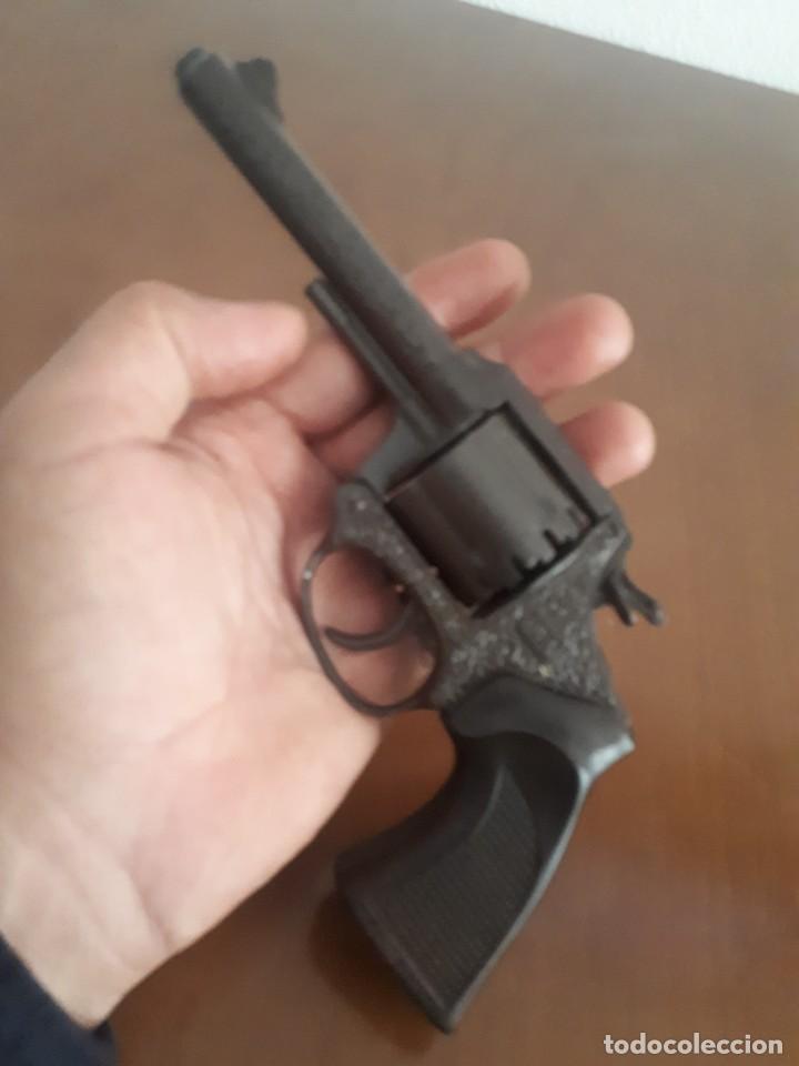 Militaria: Pistola. Revolver de jugetes Dyal A 1 marca española - Foto 4 - 219069566