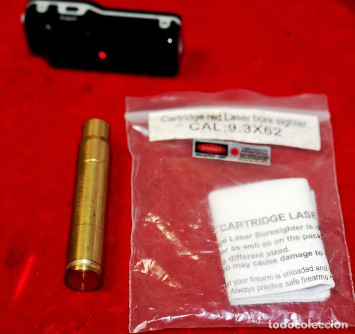 Militaria: colimador bala cal 9.3 x 62. funcionando. pilas incluidas - Foto 2 - 219911355