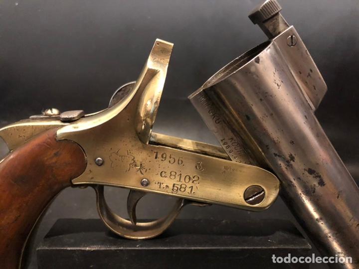 "Militaria: Pistola de bengalas KAWAGUCHIYA FIREARMS/ TOKYO & OSAKA"". 1956 - Foto 7 - 221248471"