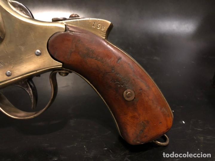 "Militaria: Pistola de bengalas KAWAGUCHIYA FIREARMS/ TOKYO & OSAKA"". 1956 - Foto 10 - 221248471"