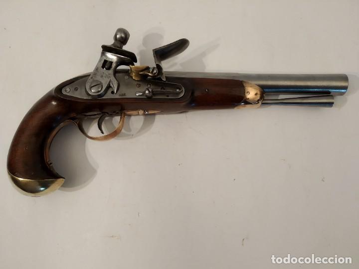 PISTOLA DE CHISPA ESPANOLA DE CABALERIA MODELO 1801. (Militar - Armas de Fuego de Avancarga y Complementos)