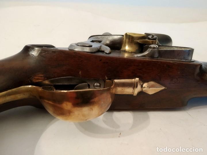 Militaria: Pistola de chispa Espanola de Cabaleria modelo 1801. - Foto 5 - 221476936