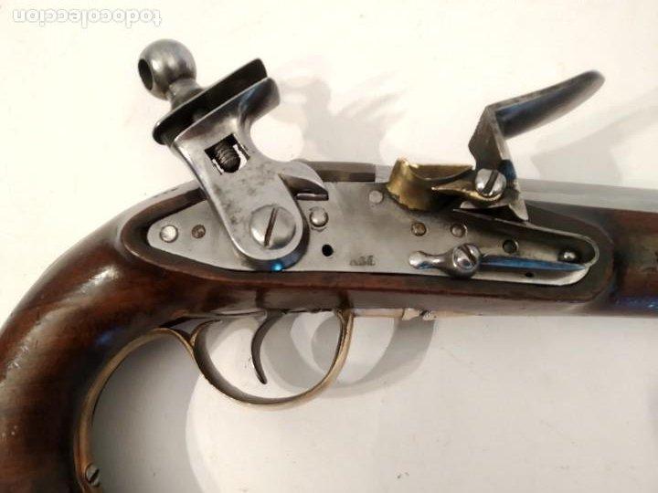 Militaria: Pistola de chispa Espanola de Cabaleria modelo 1801. - Foto 7 - 221476936