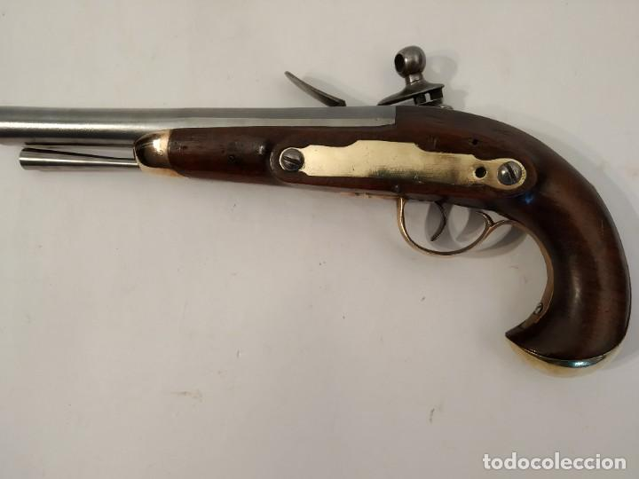 Militaria: Pistola de chispa Espanola de Cabaleria modelo 1801. - Foto 8 - 221476936