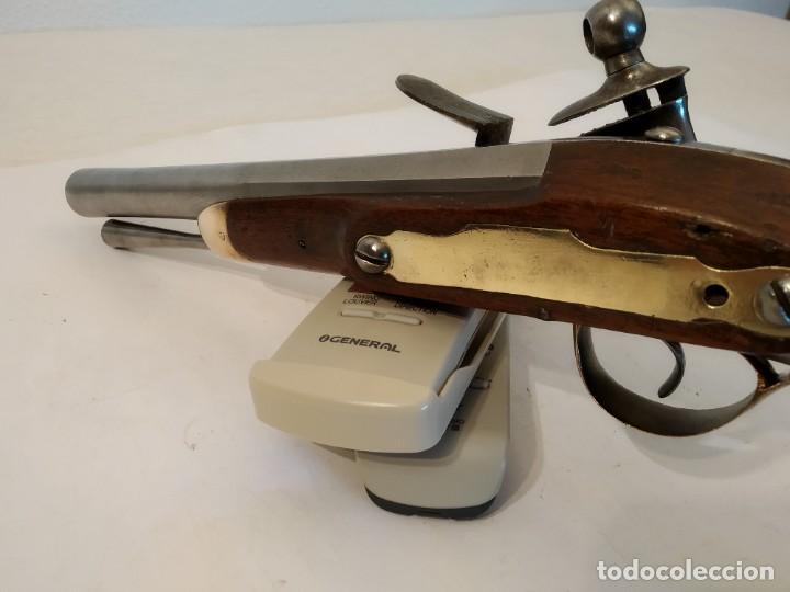 Militaria: Pistola de chispa Espanola de Cabaleria modelo 1801. - Foto 12 - 221476936