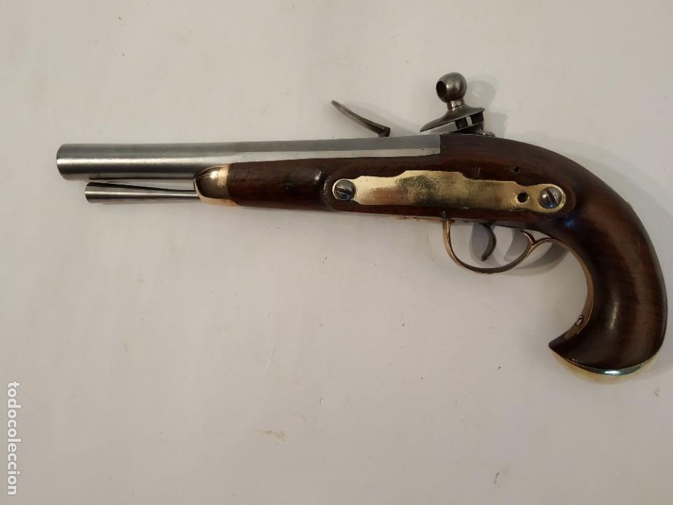 Militaria: Pistola de chispa Espanola de Cabaleria modelo 1801. - Foto 13 - 221476936