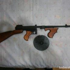 Militaria: SUBFUSIL THOMPSON M1928 A1 + REPRO + MILITAR + GASTOS DE ENVIO INCLUIDOS. Lote 222186466