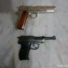 Militaria: LOTE CON COLT 1911A1 + WALTHER P38 + REPRO + MILITAR + GASTOS DE ENVIO INCLUIDOS + GUERRA MUNDIAL. Lote 222186560