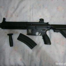 Militaria: FUSIL ASALTO HK416 AIRSOFT + REPRO + MILITAR + GASTOS DE ENVIO INCLUIDOS + GUERRA. Lote 222186615